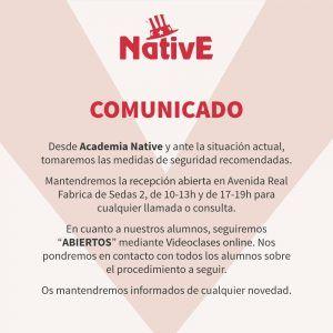 AcademiaNative-comunicado